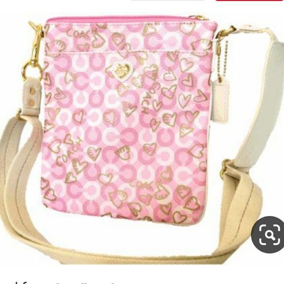 Coach Handbags - Coach Waverly Hearts Crossbody Swingpack